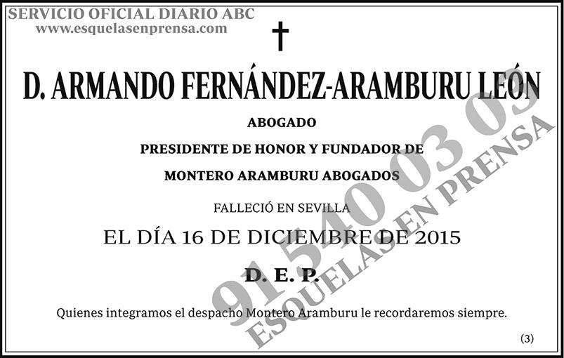 Armando Fernández-Aramburu León